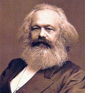 Karl Marx,le  grand penseur moderne du communisme.