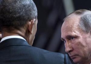 Barack Hussein Obama et Vladimir Poutine...