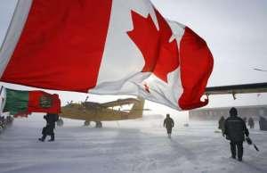 Les Rangers canadiens patrouillent sur l'île d'Ellesmere, au Nunavut.
