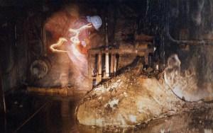 Voici l'une des premières images prises du corium en 1996 lors d'une dangereuse expédition.