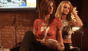 Encore des fans de football américain On ferait bien un petit match avec elles !