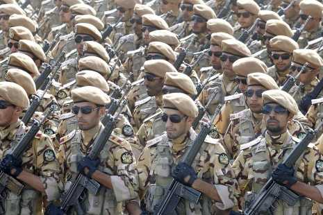 Soldats d'élite iraniens