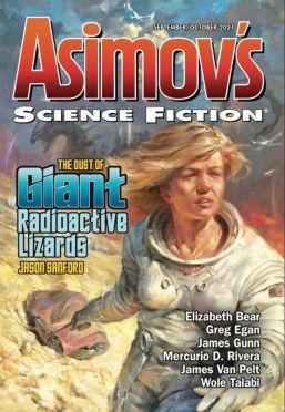 Couverture du magazine Asimov's Science Fiction