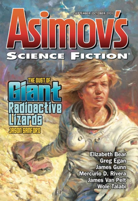 Cover of this Asimov's SF issue