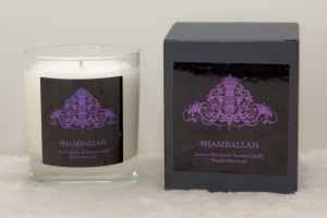 Shamballah scented candle