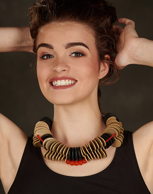 or-collier-cuir-michèle-forest-design