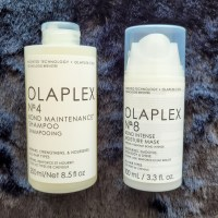 Olaplex 4 and 8: Shampoo and Mask Review