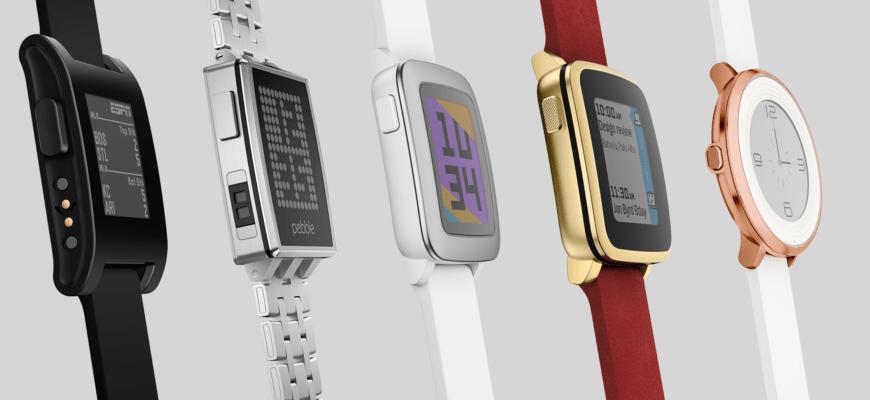 Gli orologi Pebble