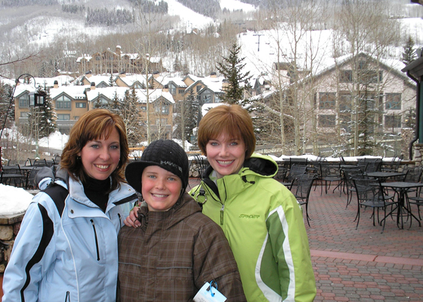 Griffon, Steph and I in Beaver Creek