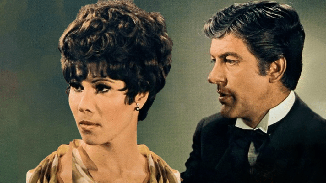 Michele Lee and Dick Van Dyke in The Comic