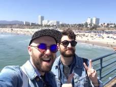 On the Pier of Santa Monica