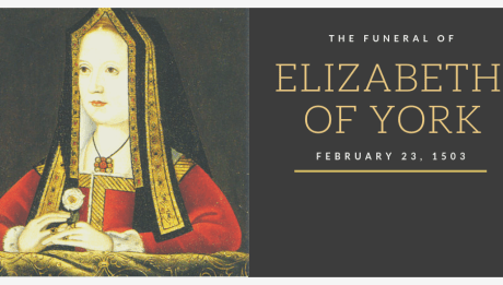 The Funeral of Queen Elizabeth of York