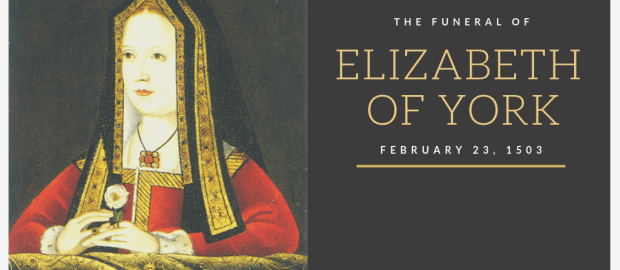 The Funeral of Queen Elizabeth of York