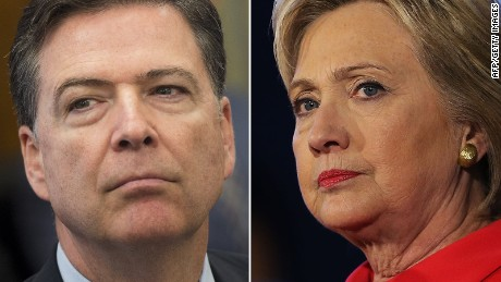 Image result for comey clinton