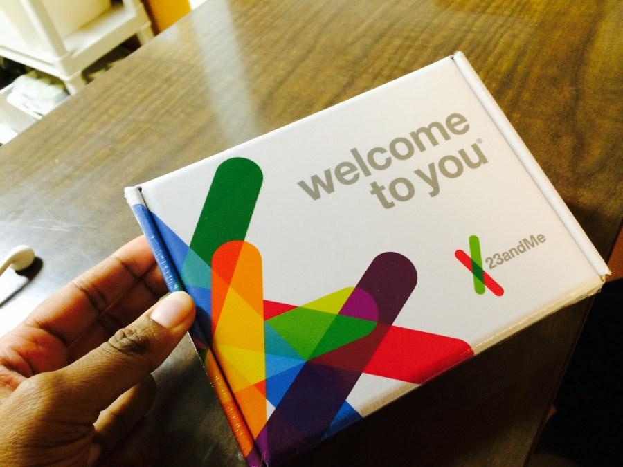 My 23andMe kit
