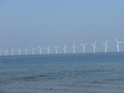 Windmills at Amagerstrand