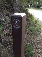 8-Mile Loop marker