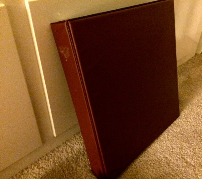 My barebones Tarot notebook.