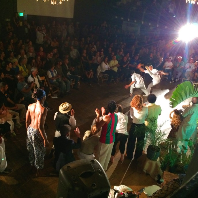 Went out with some friends to see a Capoeira show in Oakland. It was inspiring.