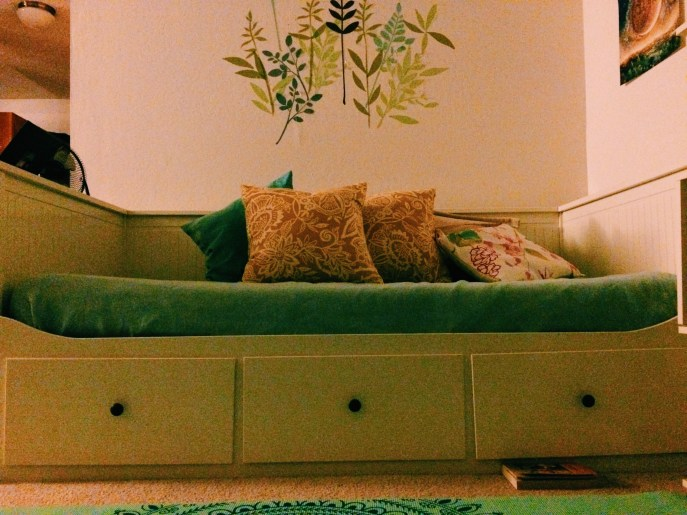 My IKEA Hemnes Daybed.