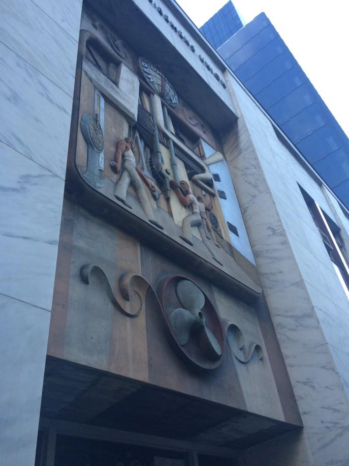 Fancy building decoration, San Francisco.