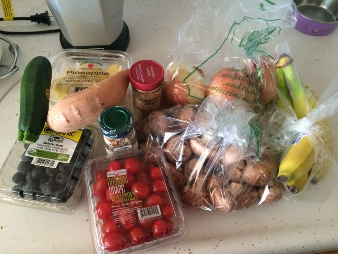 Grocery haul. Clean eating FTW!