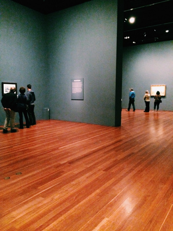A good friend and I went to the J.M.W. Turner exhibit at the deYoung Museum in San Francisco. We both loved it!