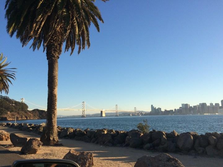 Bay Bridge. Taken before Day 2 of the SF International Dragon Boat Festival.