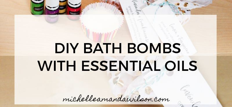 DIY Cupcake Bath Bombs with Young Living Essential Oils