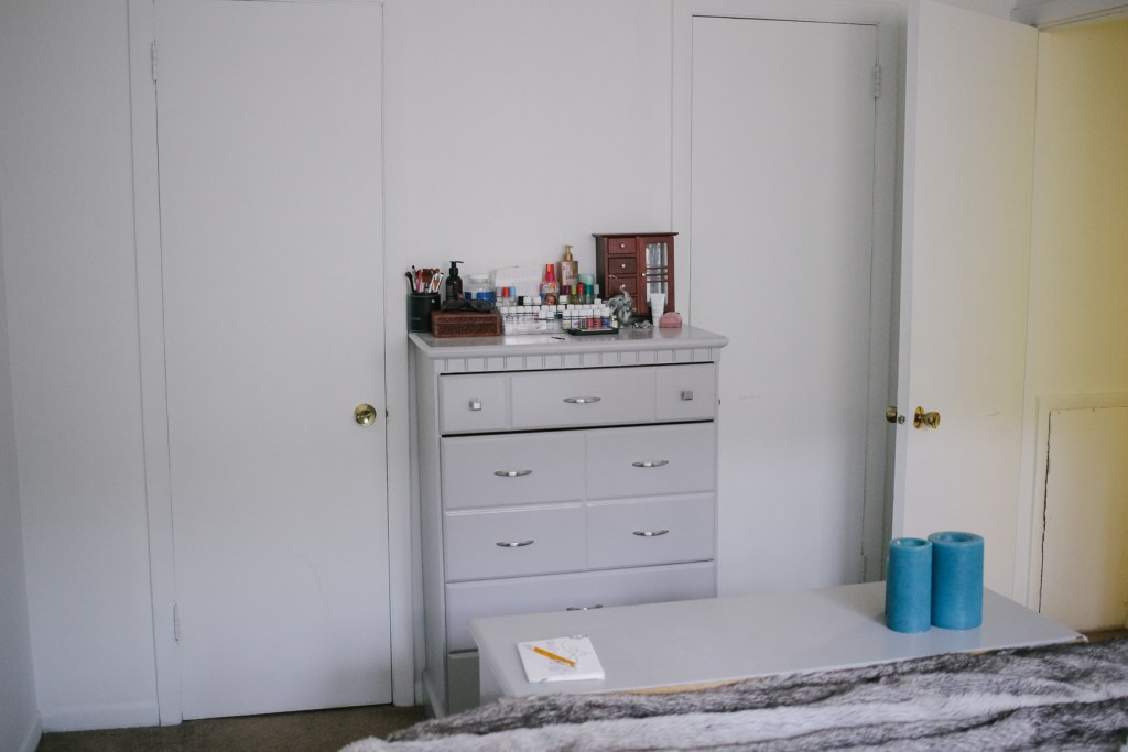 Bedroom Refresh Before Photo Dressers