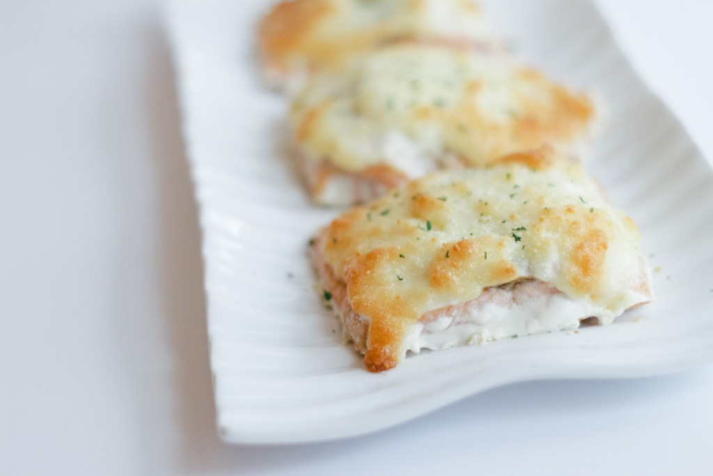 Parmesan Crusted Salmon 3 Ingredient Recipe Weeknight Meal