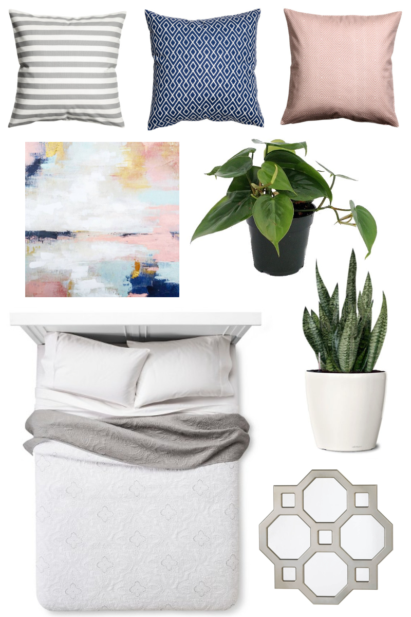 Budget Bedroom Refresh Moodboard Plans
