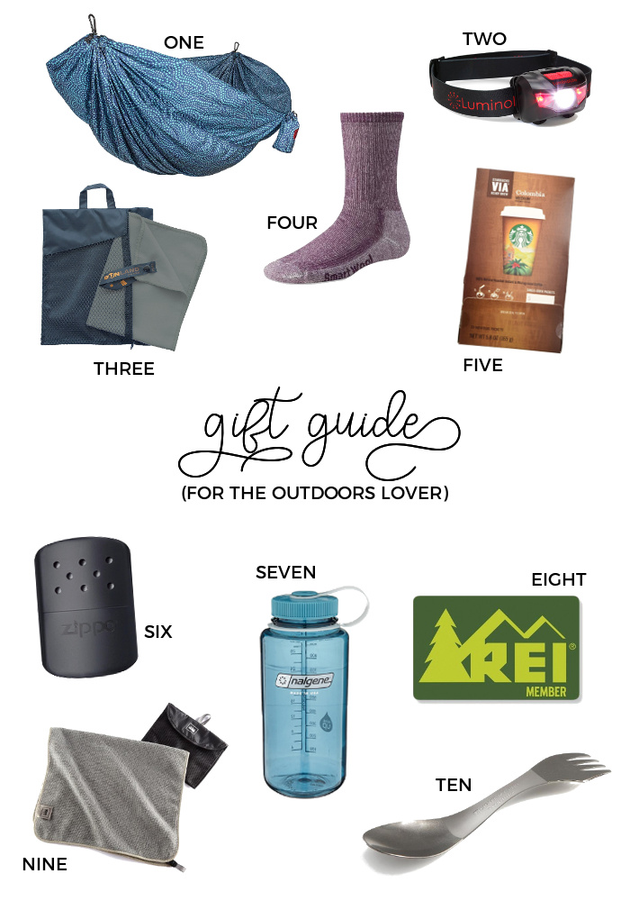 2017 Christmas Gift Guides - For the Outdoors Lover