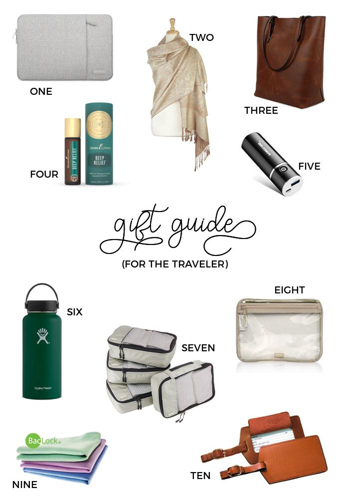 2017 Christmas Gift Guides - For the Traveler