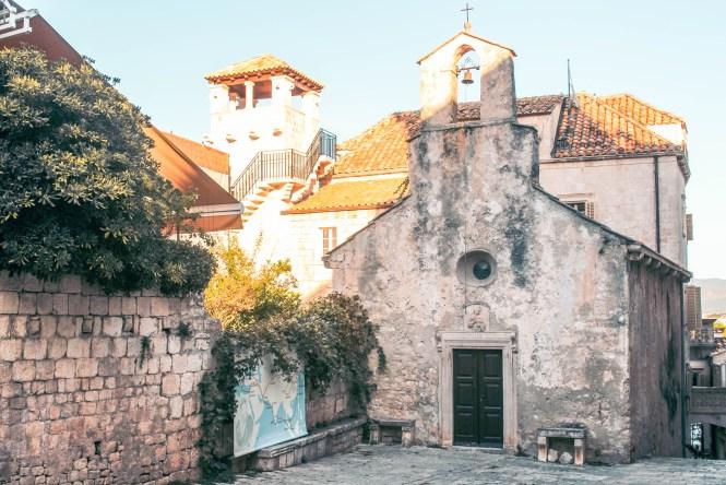 korcula croatia old town