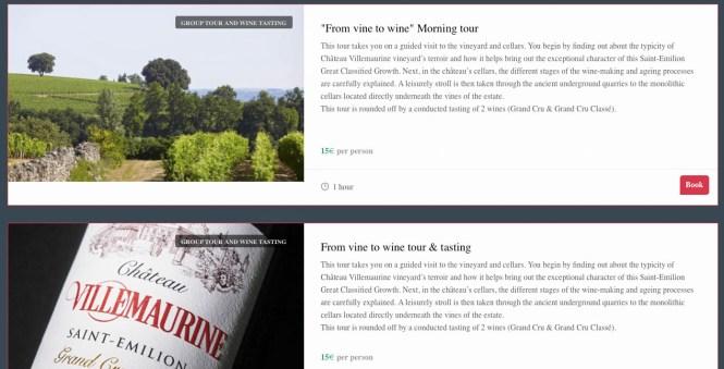 saint-emilion wine tour