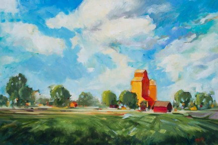 Big Praire Sky-SOLD