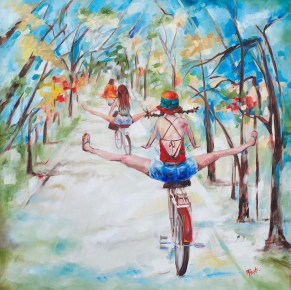 Freedom Fun and Friends-SOLD-Giclee Prints available