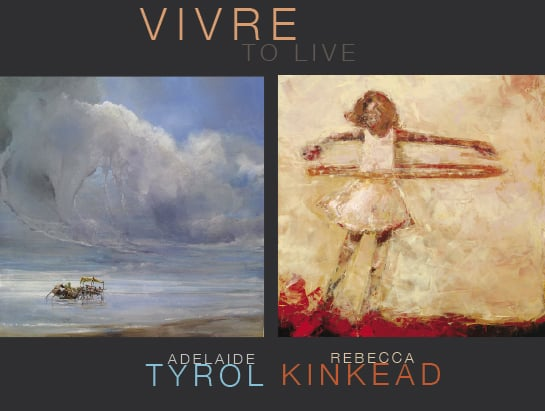Rebecca Kinkead and Vivre/To Live at West Branch Gallery