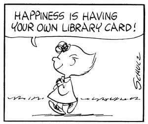 Peanuts Gang - National Library Week