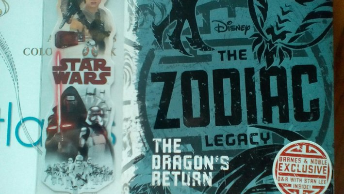 B and N edition - The Zodiac Legacy - Dragons Return by Stan Lee