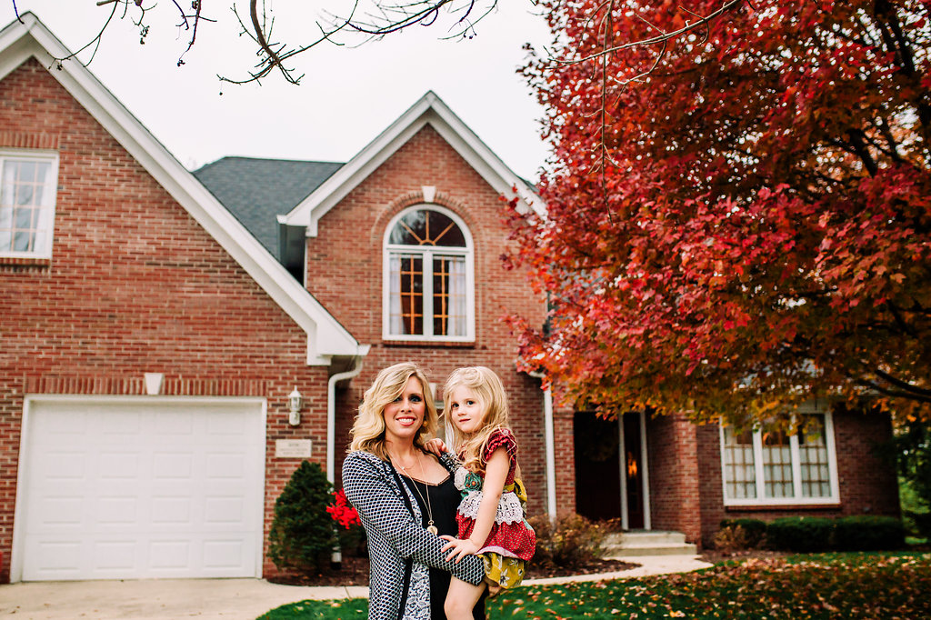 Greenwood-Indiana-House-Mother-Daughter-Brick-Autumn-Fall