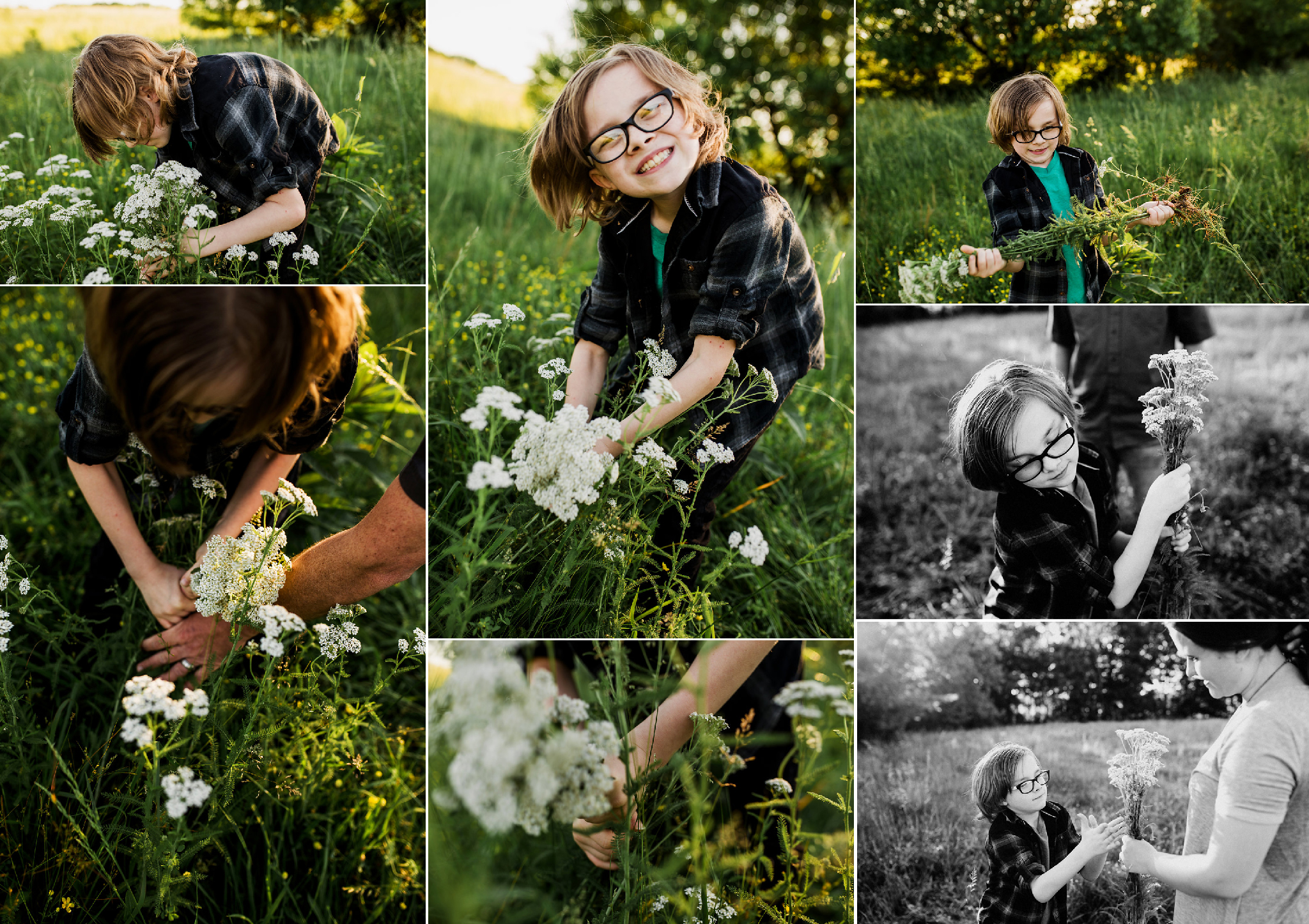 Will-picking-flowers-field-mothers-day-mom-adoption-autism