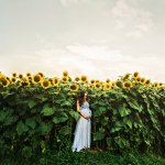Sunflower Field Maternity | Nashville, Tennessee Photographer