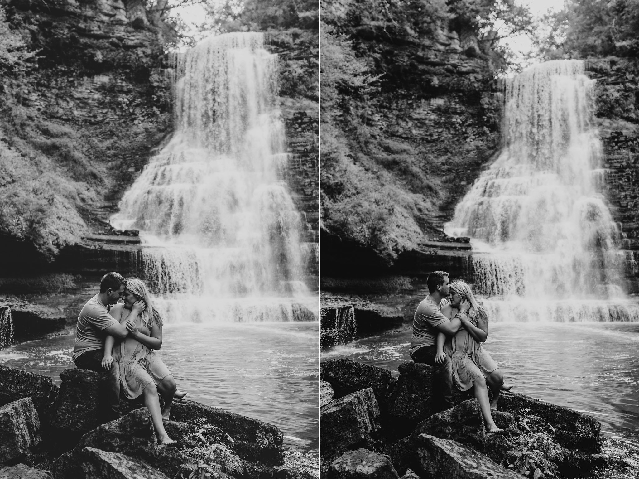 Waterfall-Engagement-Nashville-Tennessee-Evins-Mill-Carmac-Falls-123