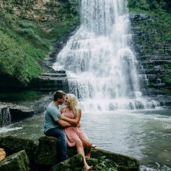 Waterfall Engagement Session | Nashville, Tennessee Photographer