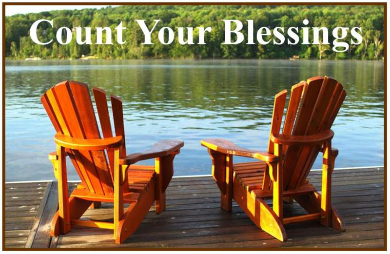 Count Your Blessings For 2011