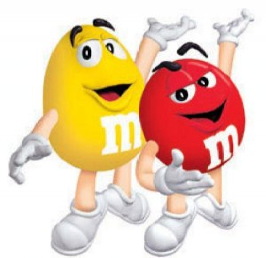 Lent And M&Ms