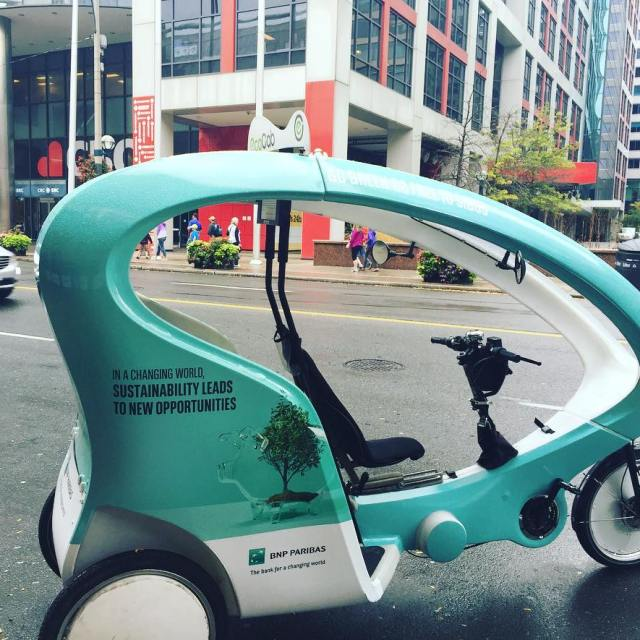 Complementary transportation by finastra at sibos toronto gogreen
