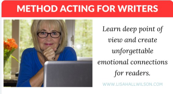 Deep pov Method acting for authors